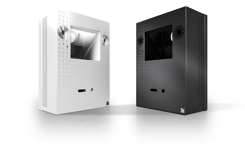 console-black-white-almabox